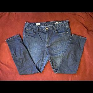 31 high rise skinny Gap jeans